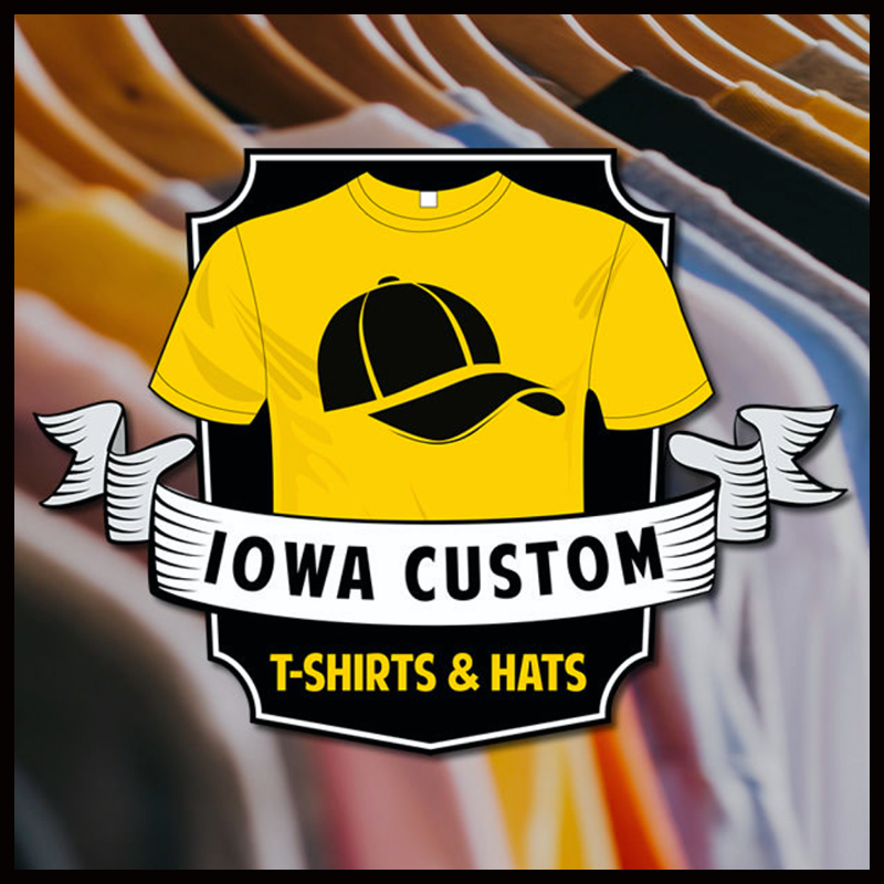 Iowa Custom T-Shirts & Hats
