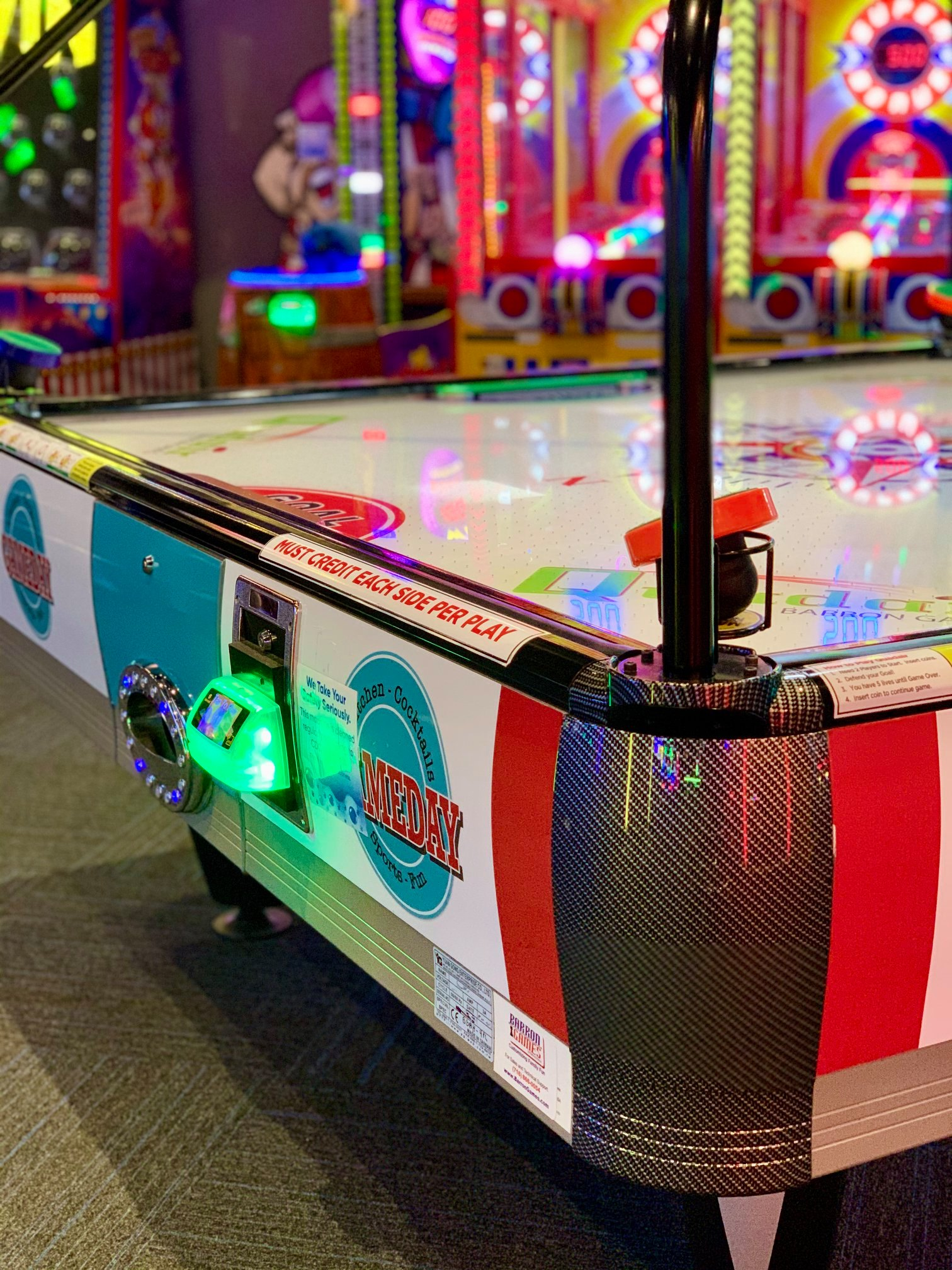GameDay air hockey