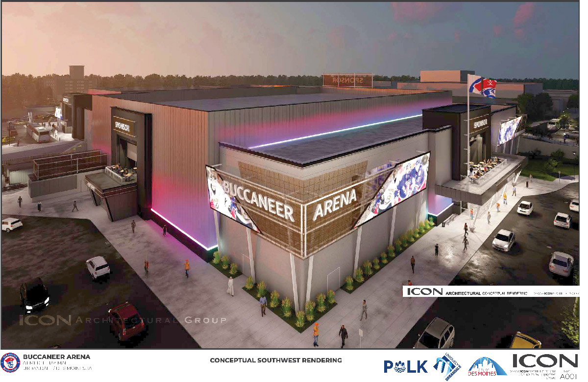Des Moined Bucs Arena